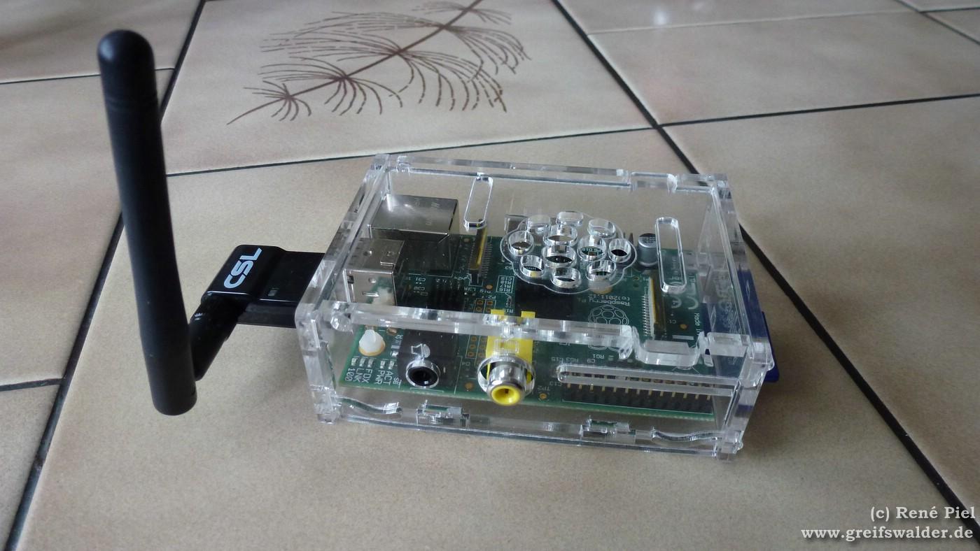 Mein Raspberry Pi