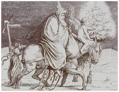 Knecht Ruprecht und das Christkind