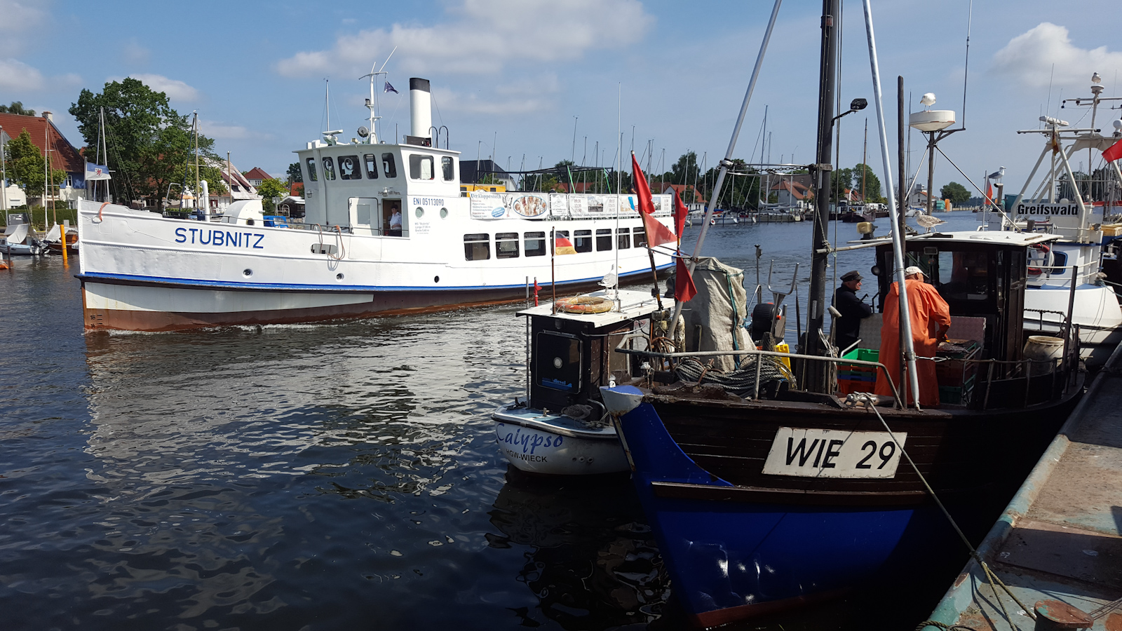 Unterwegs in Greifswald-Wieck