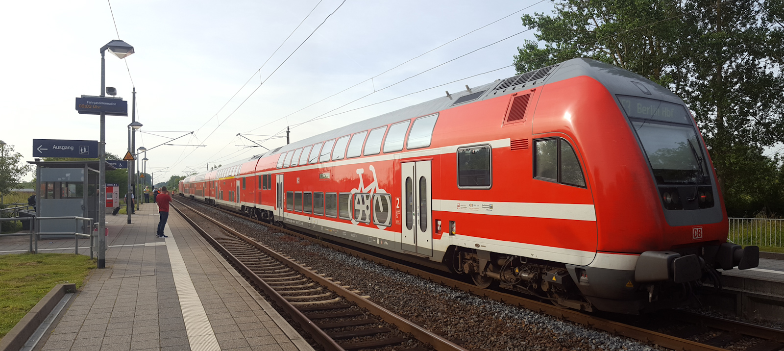 Bahnunfall am Südbahnhof in Greifswald