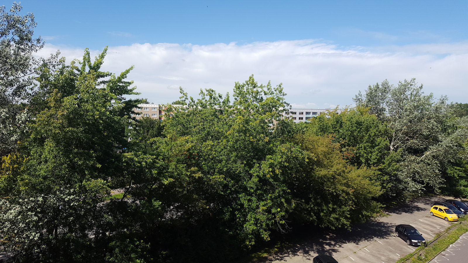 Wolken in Sicht