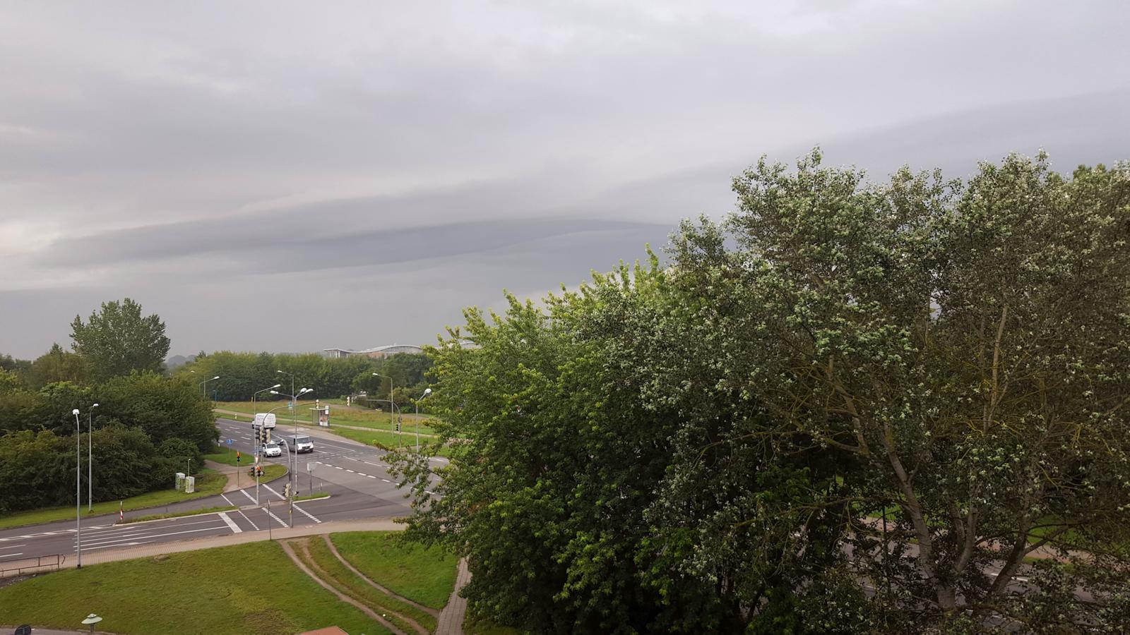 interessante Wolkenformation