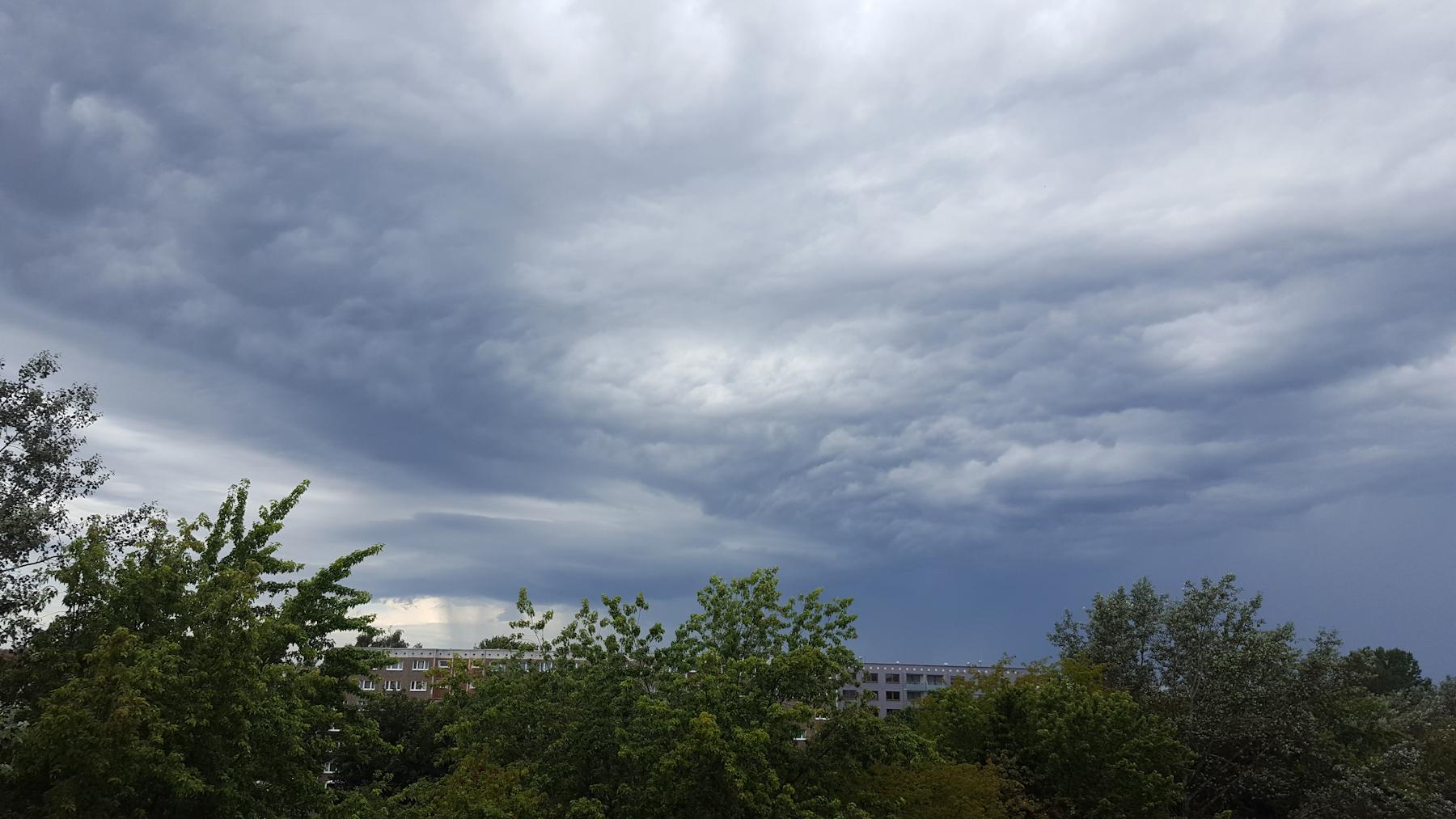 Gewitter zieht vorbei