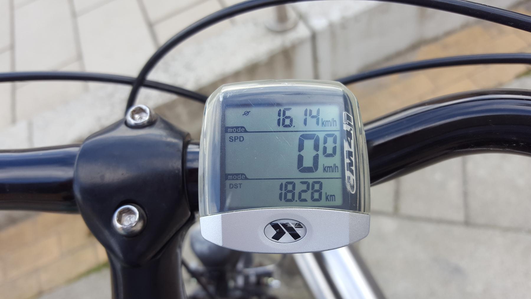18 km Frühsport-Fahrrad-Runde