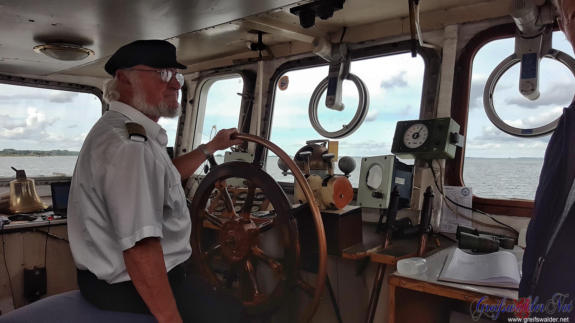 """Kapitän der """"Stubnitz"""""""