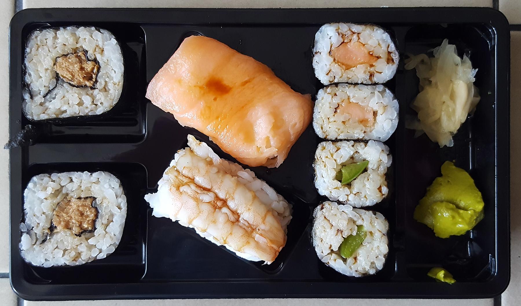 Sushi-Frühstück