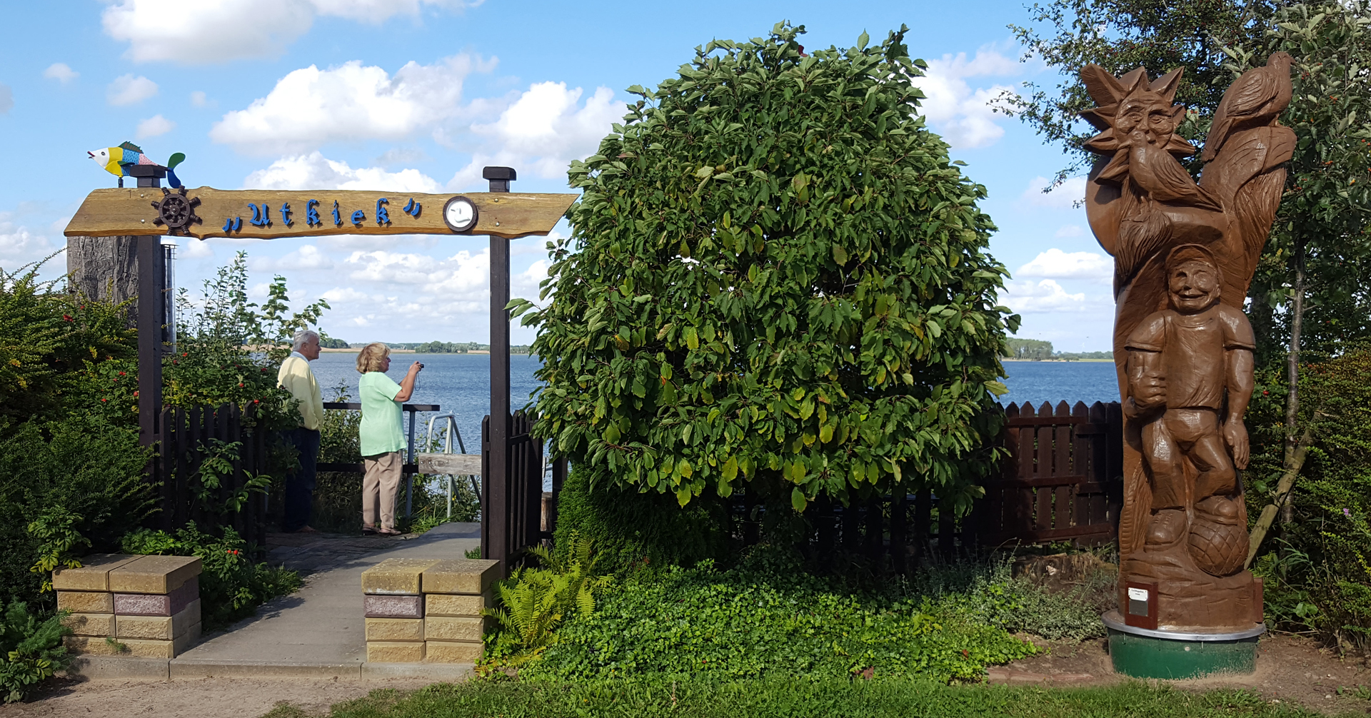 Utkiek am Strelasund
