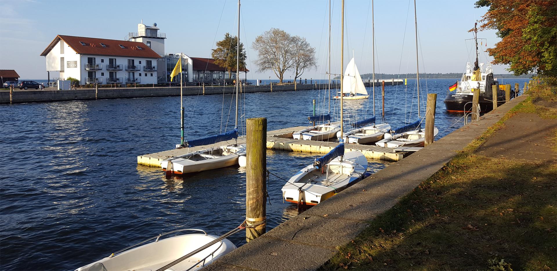 Herbst-Sonnenwetter in Greifswald-Wieck