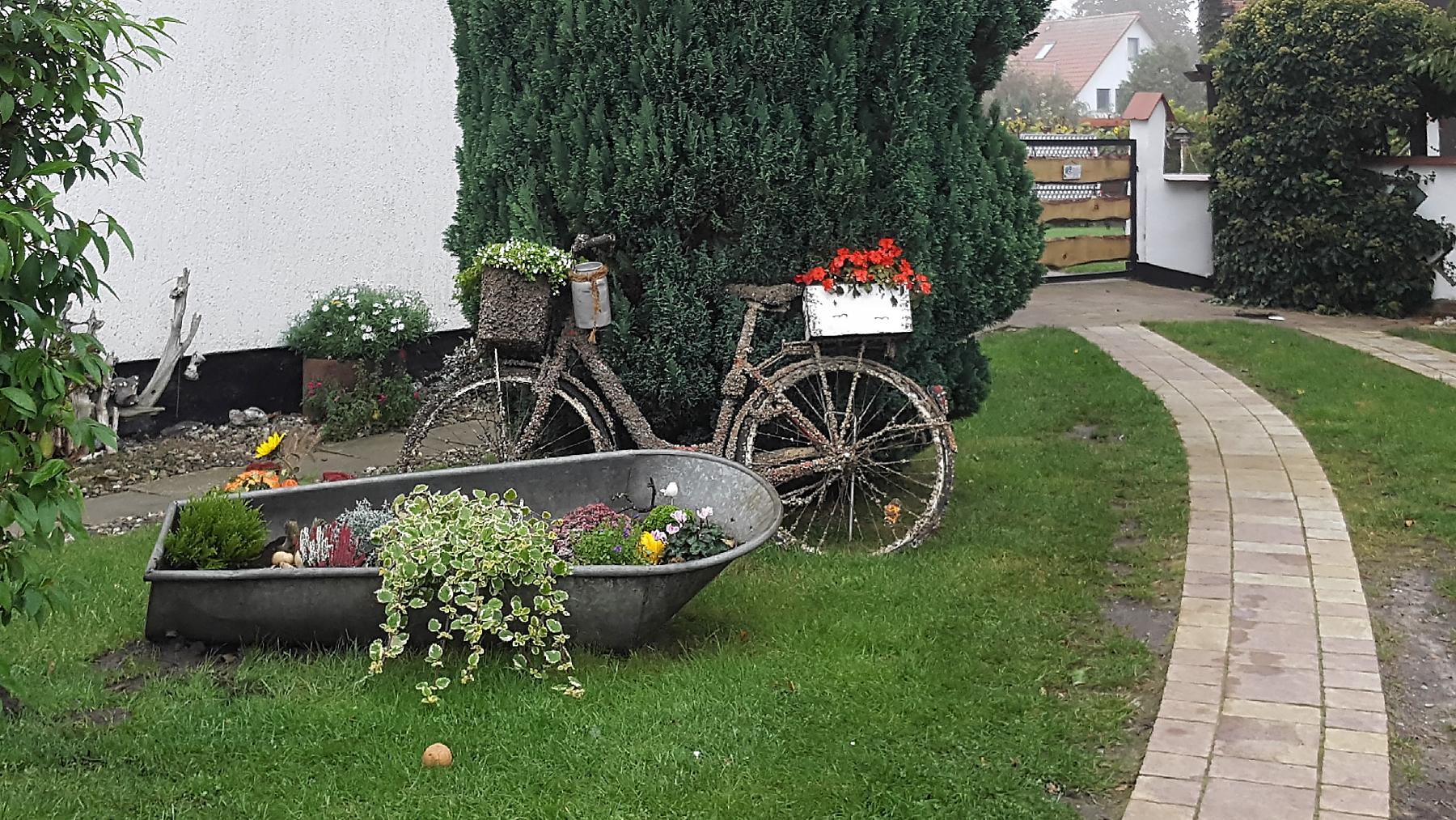 Fahrrad aus dem Ryck