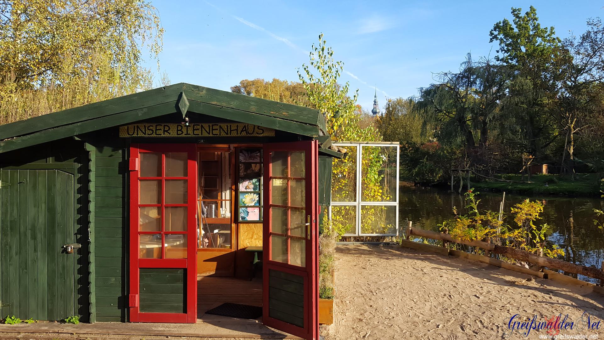 im Tierpark Greifswald