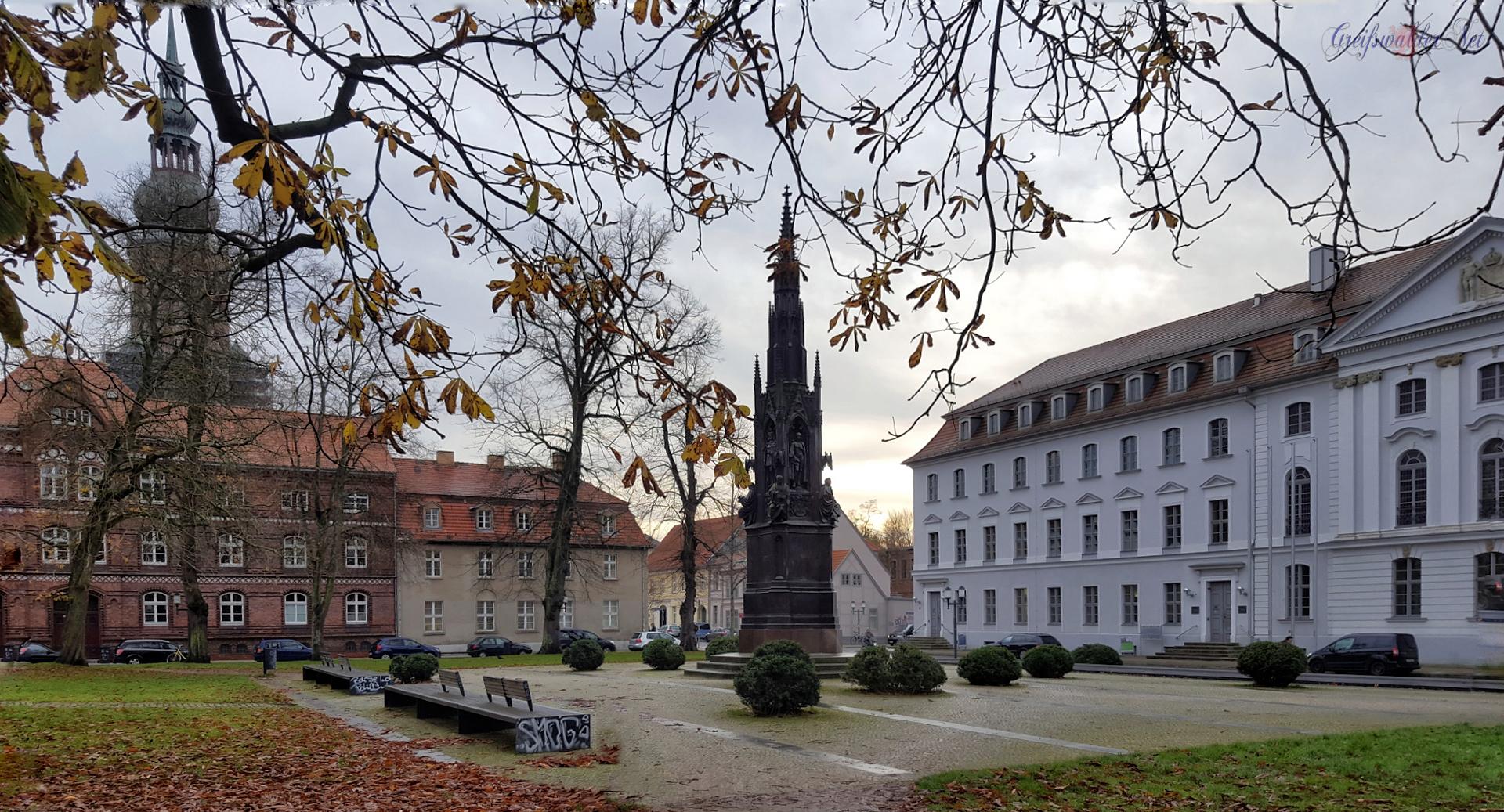 Rubenowplatz in Greifswald