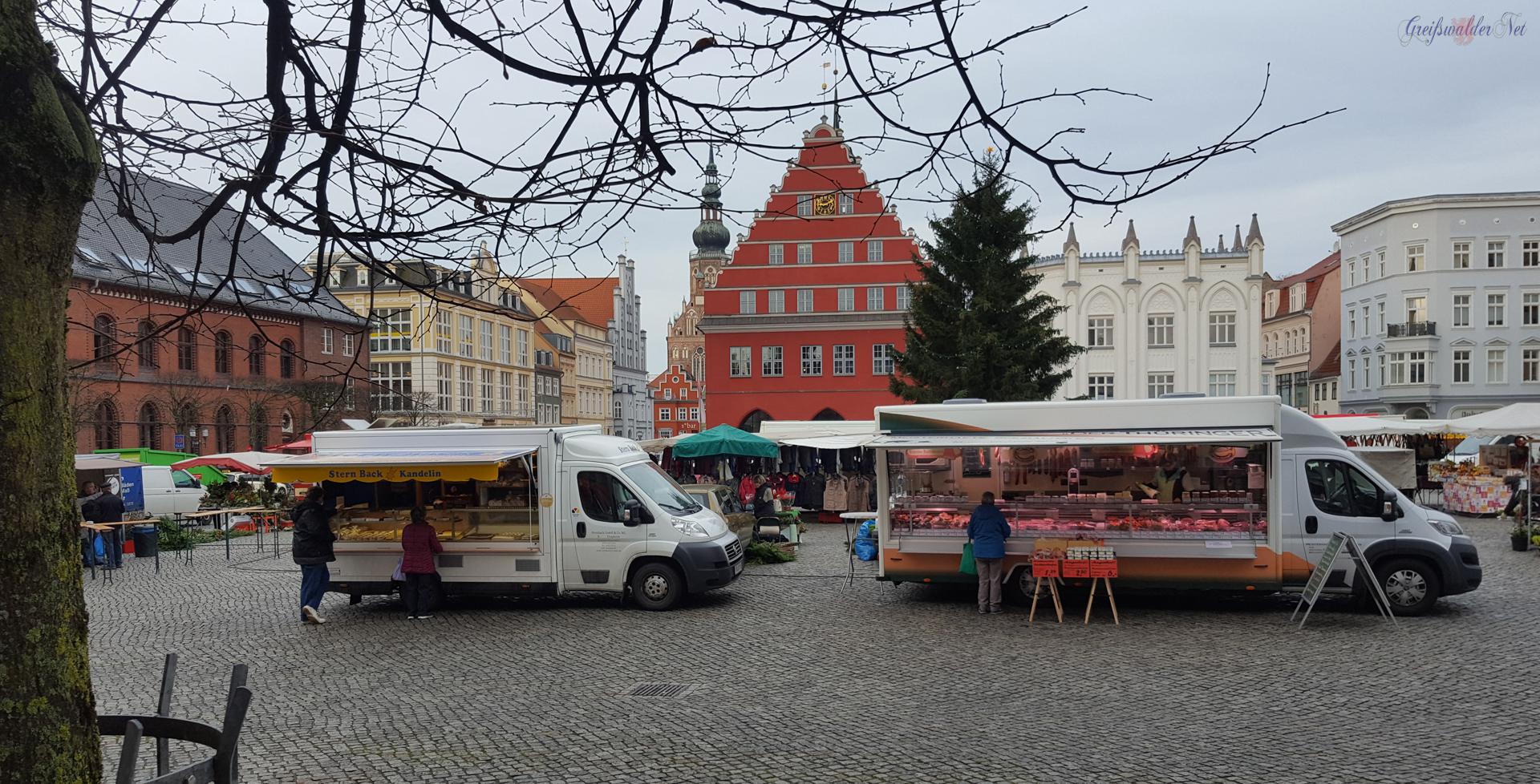 Markttag in Greifswald