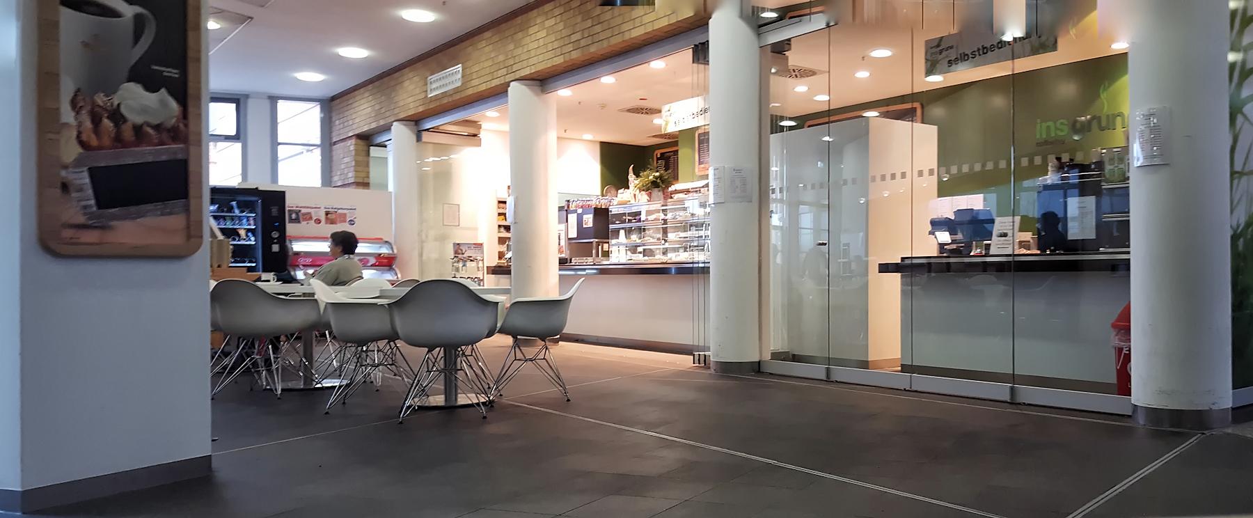 Cafeteria im Klinikum Greifswald