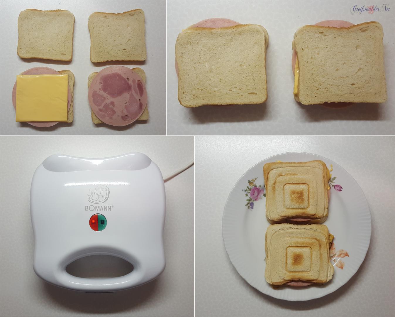 Sandwichmaker - schnell & lecker