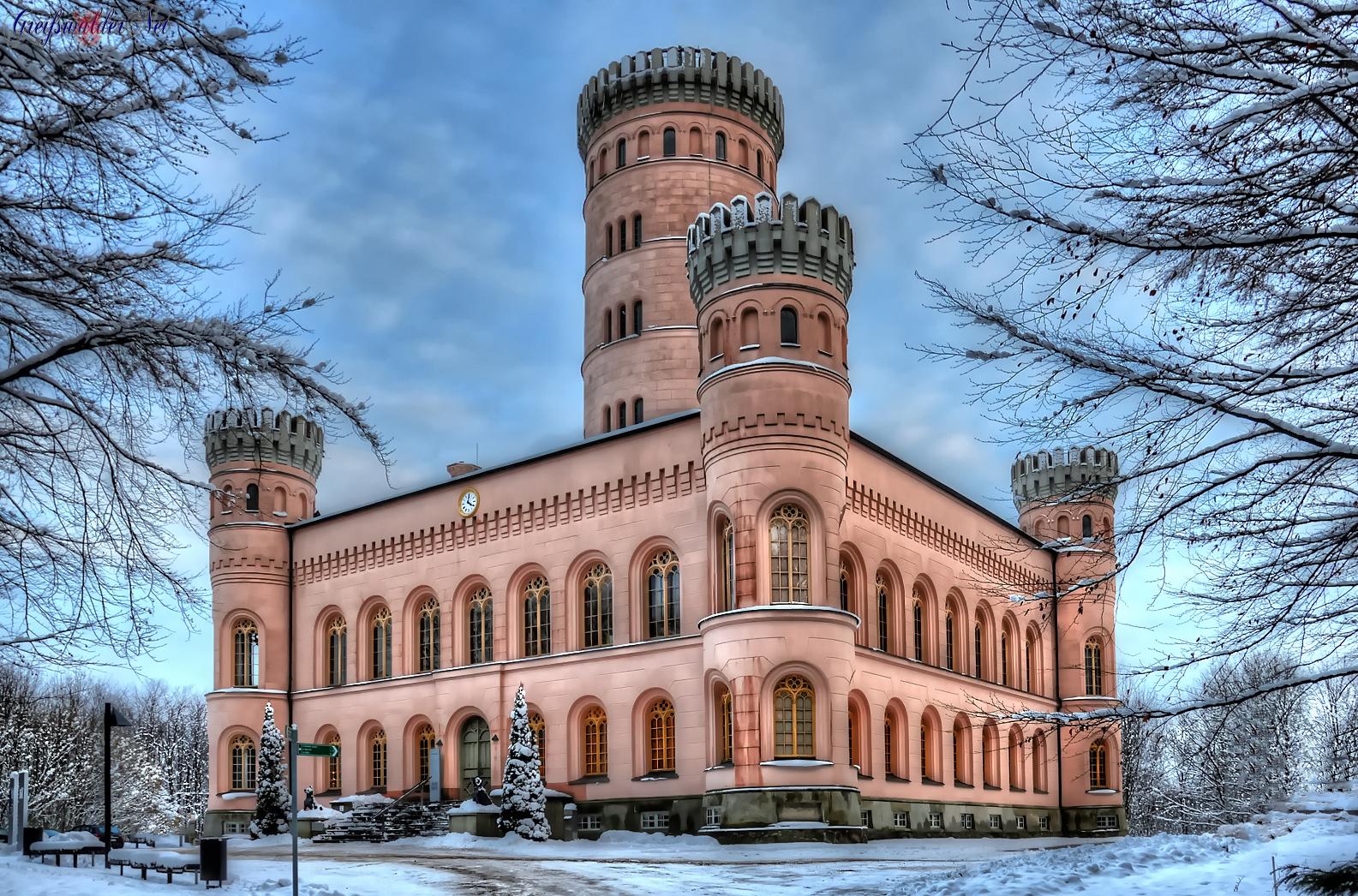 Wintermärchen Schloss