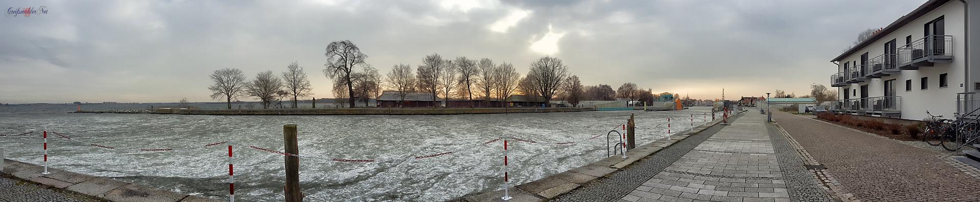 9. Januar 2018 - Greifswald-Wieck eiskalt