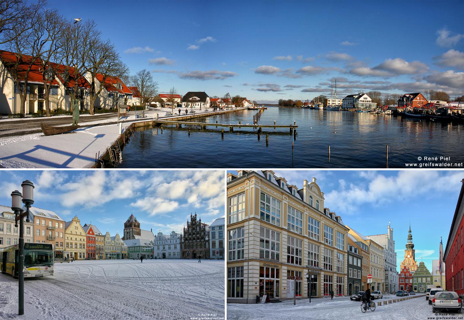 Winterimpressionen aus Greifswald