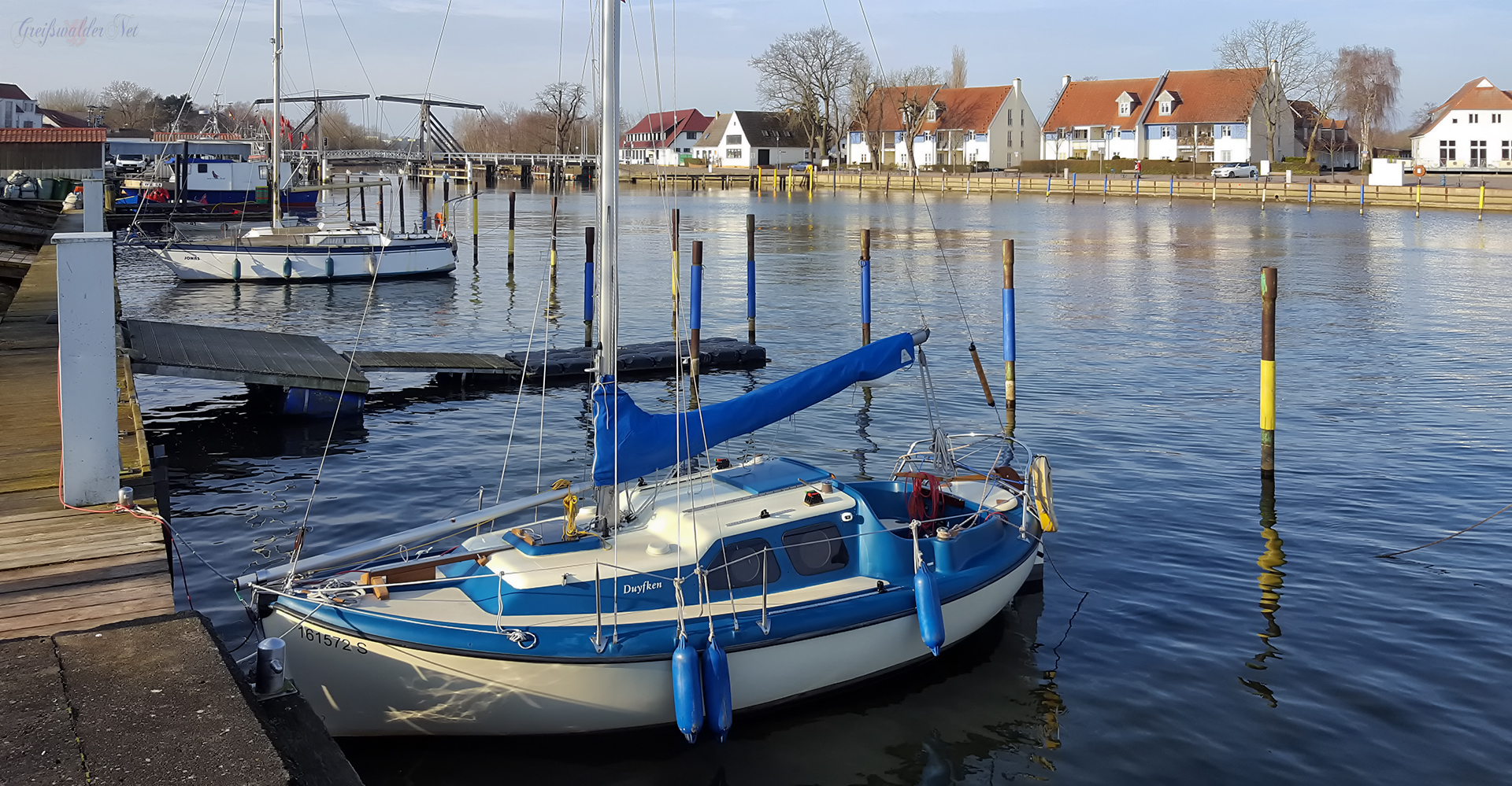 schönes Wetter in Greifswald-Wieck