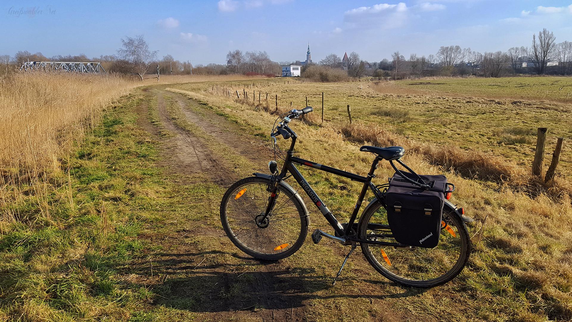 Fahrradtour bei Sonnenschein