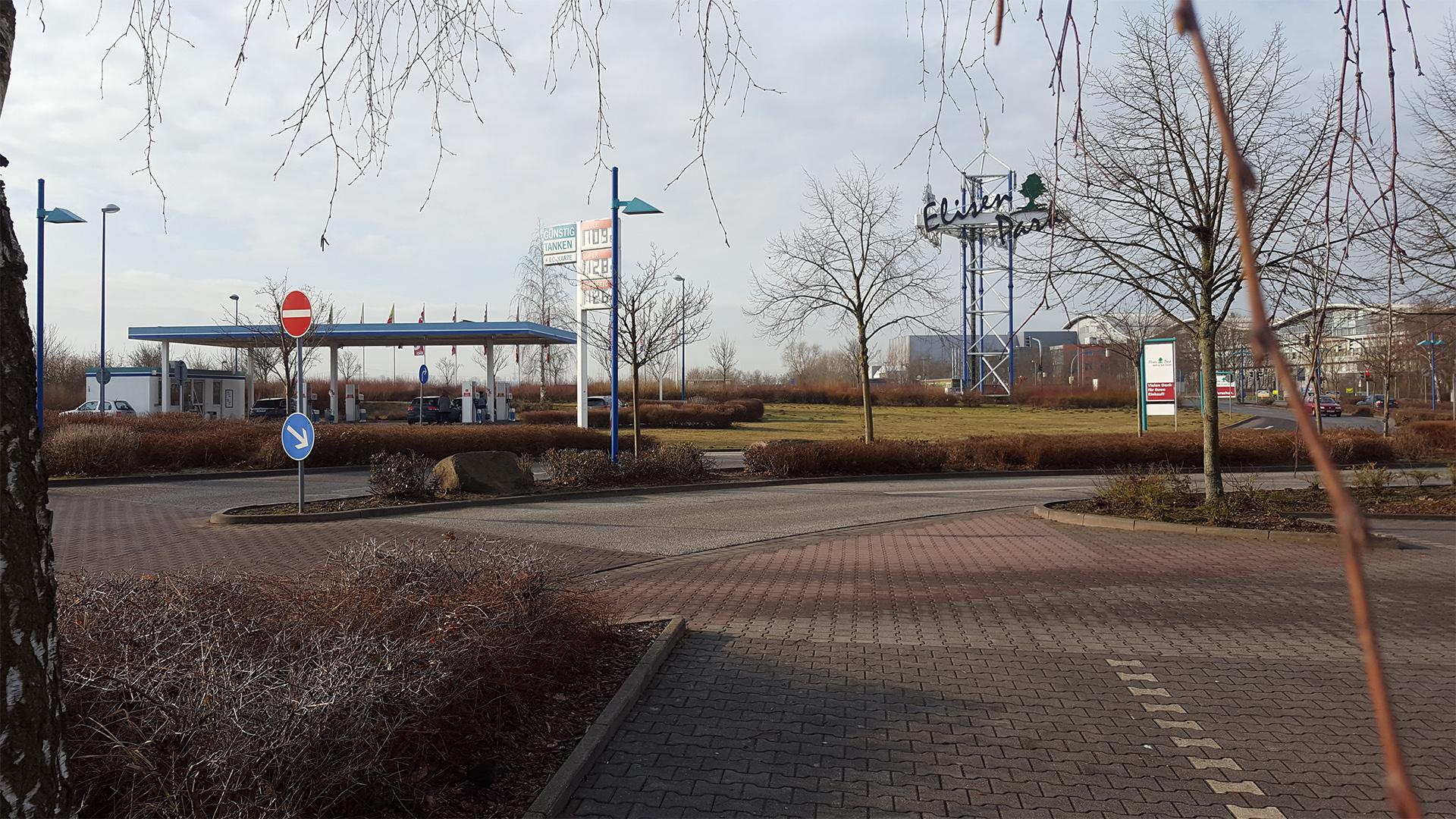 Vormittags am Elisenpark in Greifswald
