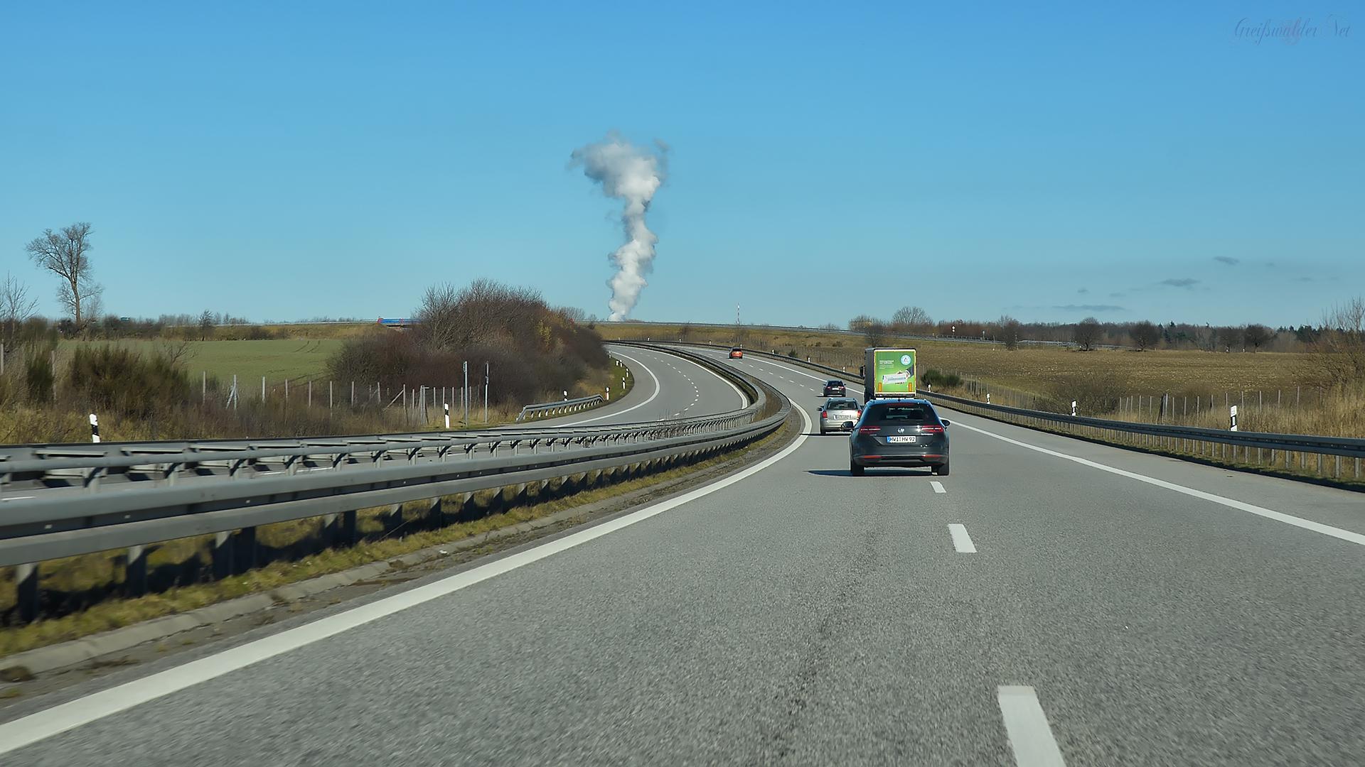 A20 Richtung Rostock