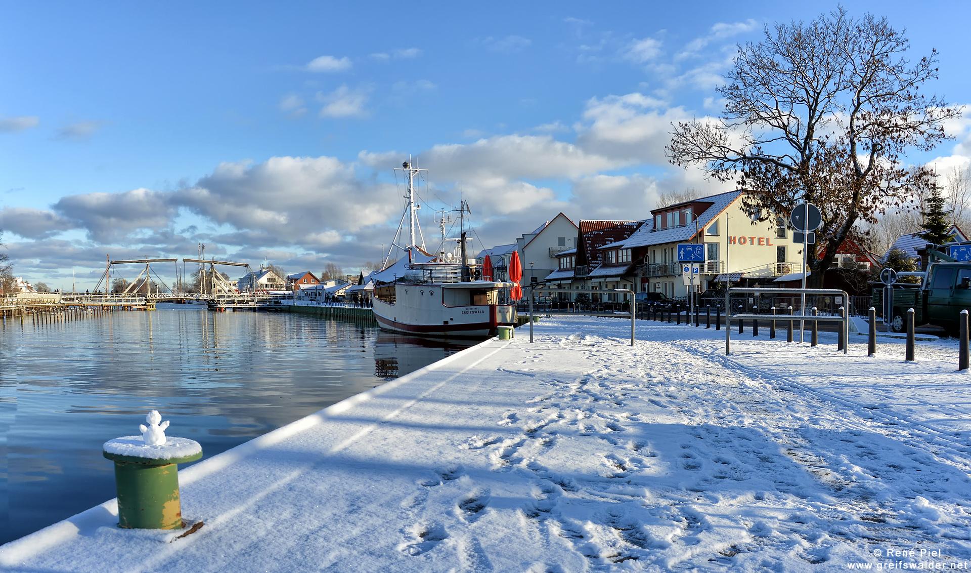 Winter 2014 in Greifswald-Wieck