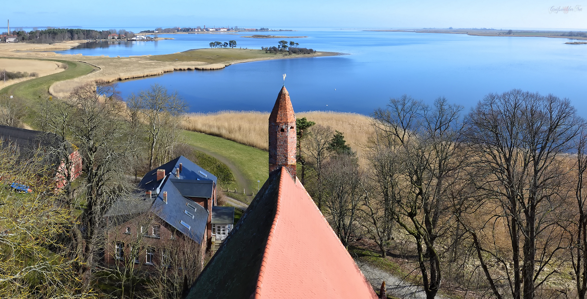 Blick vom Kirchturm Gristow