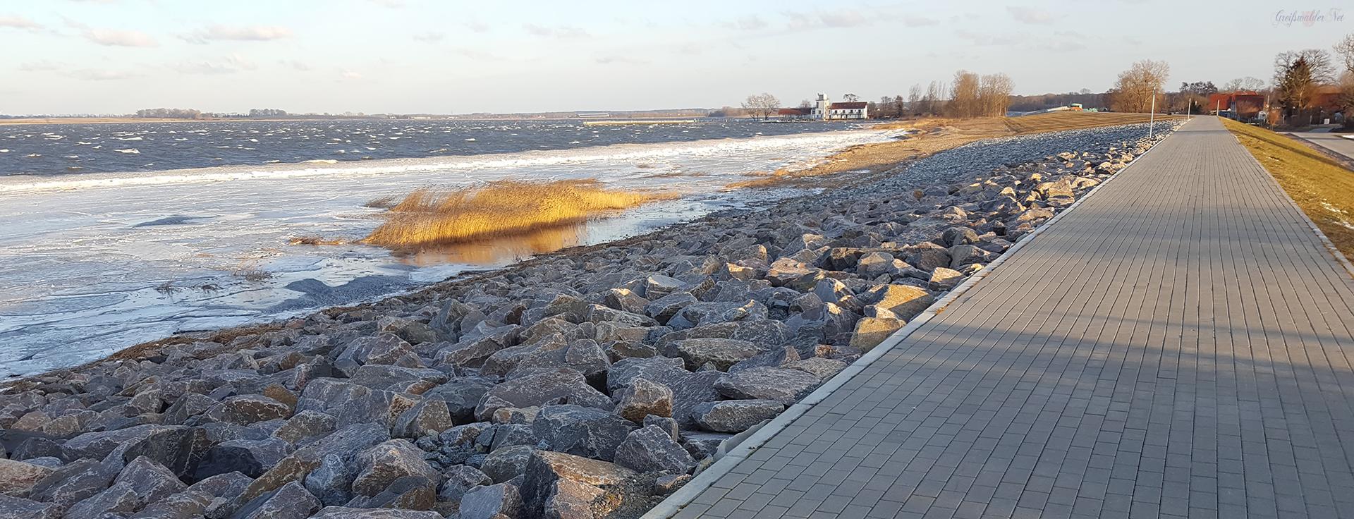 Greifswald-Wieck vereist