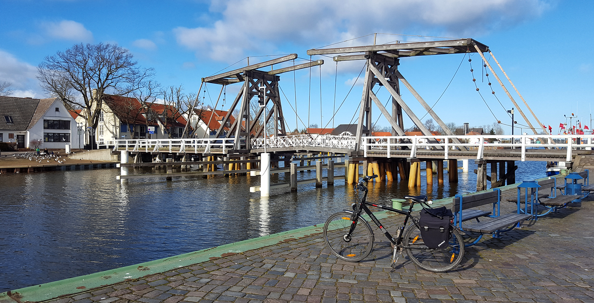 Frühlingsanfang - Nachmittag in Greifswald-Wieck