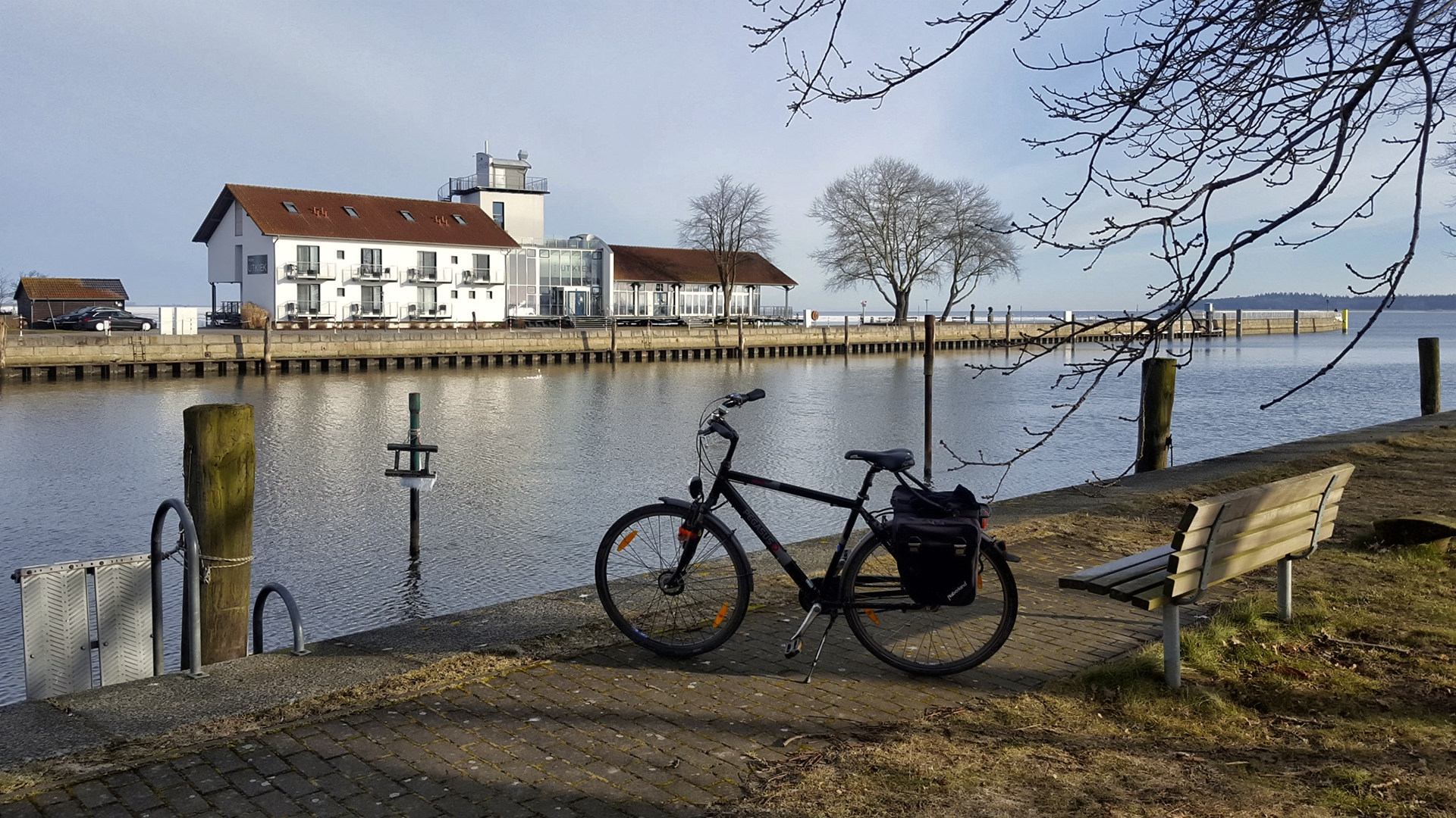Mittwochmorgen in Greifswald-Wieck