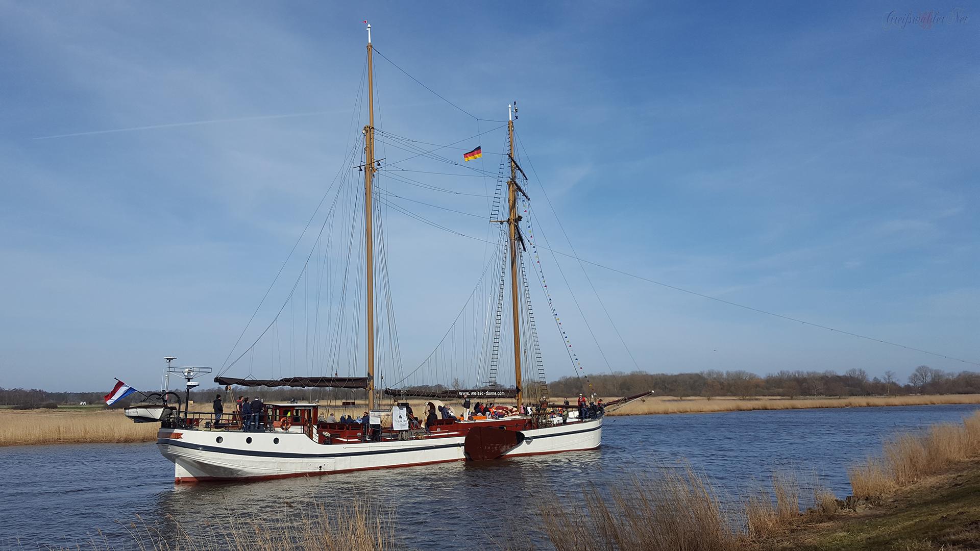Ryck-Treideltour 2018 in Greifswald