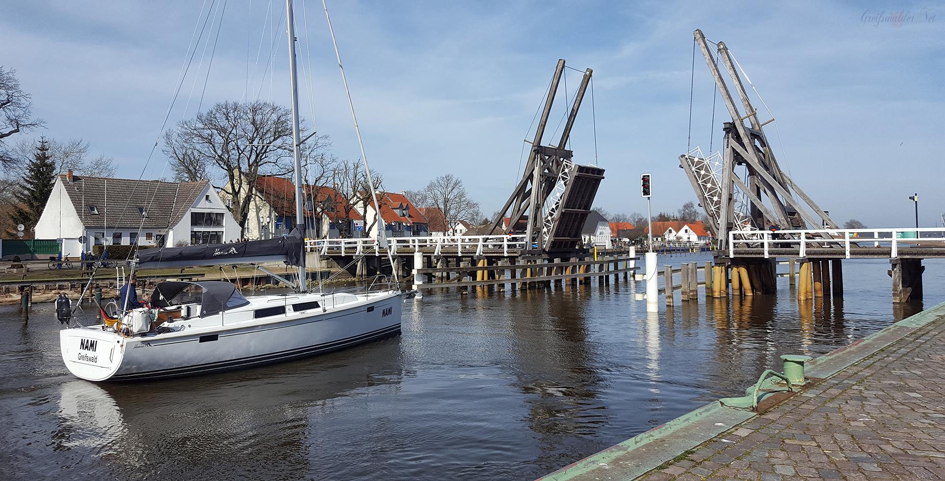 Frühlingsnachmittag in Greifswald-Wieck