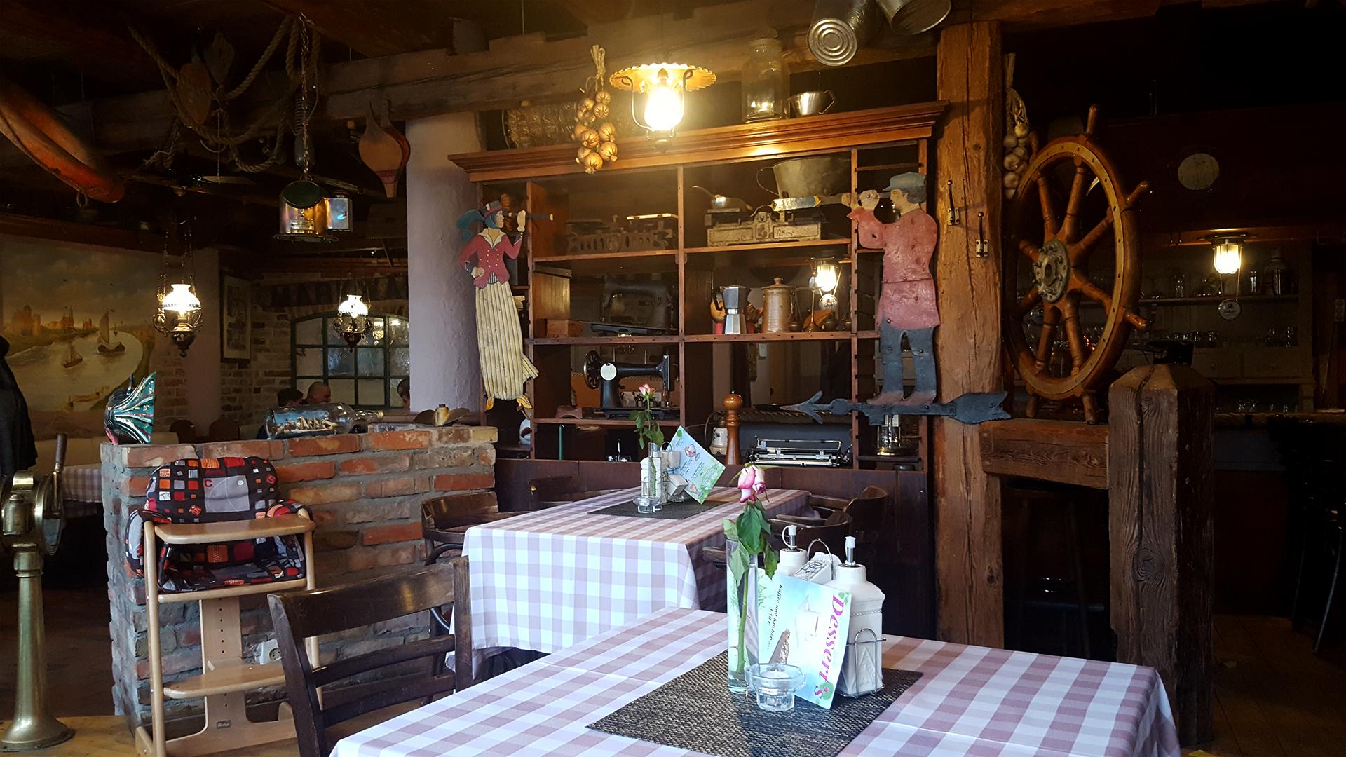 "Abendessen im ""Bella Italia"" in Greifswald"