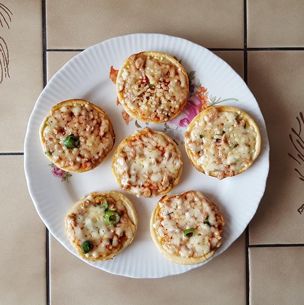 Pizza Piccolinis Thunfisch