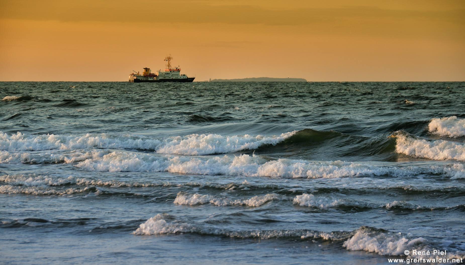 Ostseeküste auf der Insel Usedom