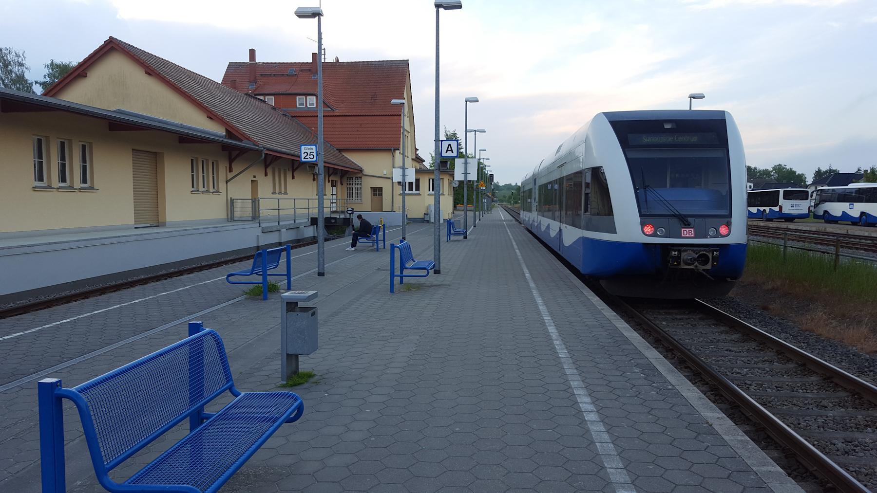 unterwegs nach Karlshagen