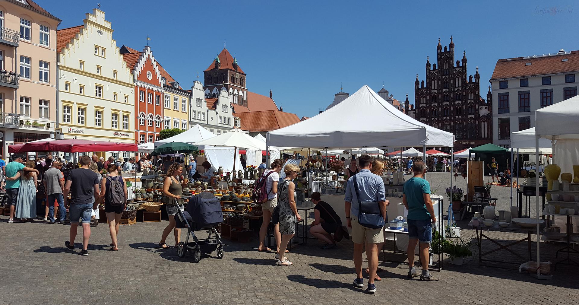 12. Greifswalder Töpfermarkt 2018