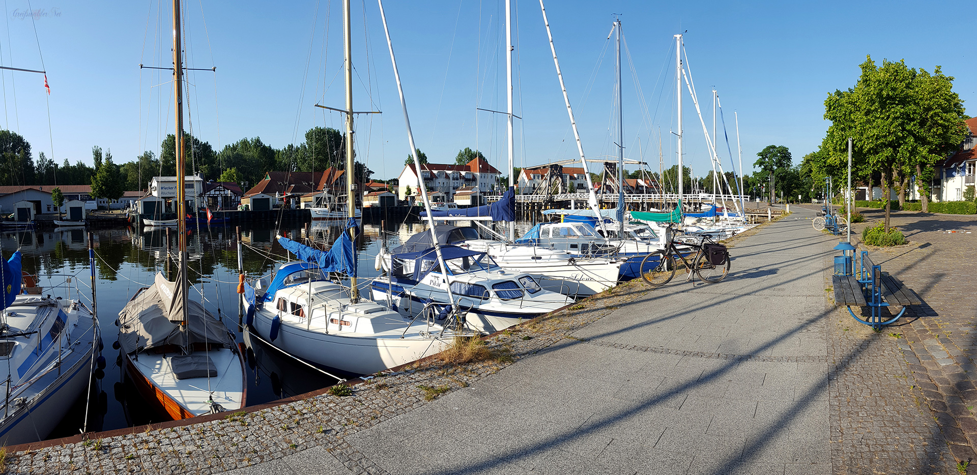 Guten Morgen aus Greifswald-Wieck