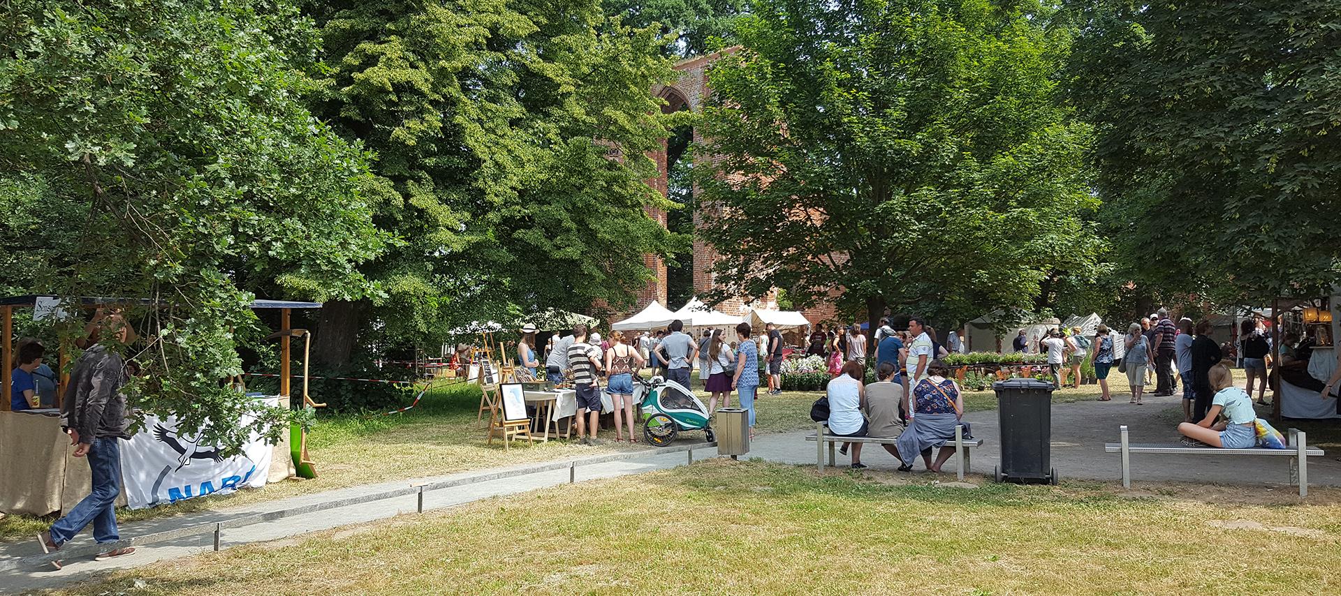 5. Klostermarkt in Greifswald-Eldena