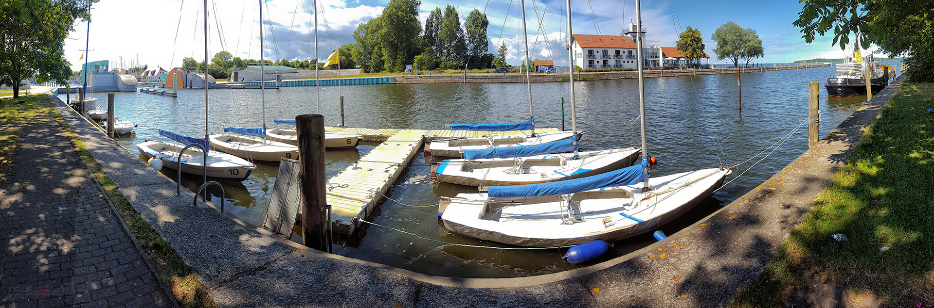 Sommernachmittag in Greifswald-Wieck