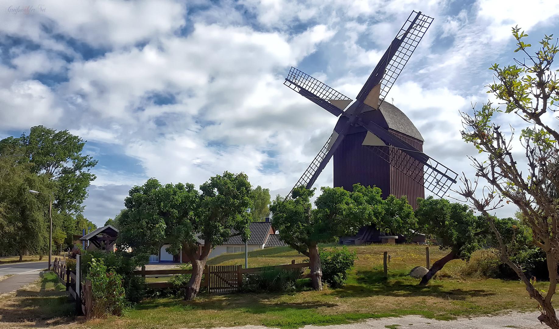 Bockwindmühle in Greifswald-Eldena
