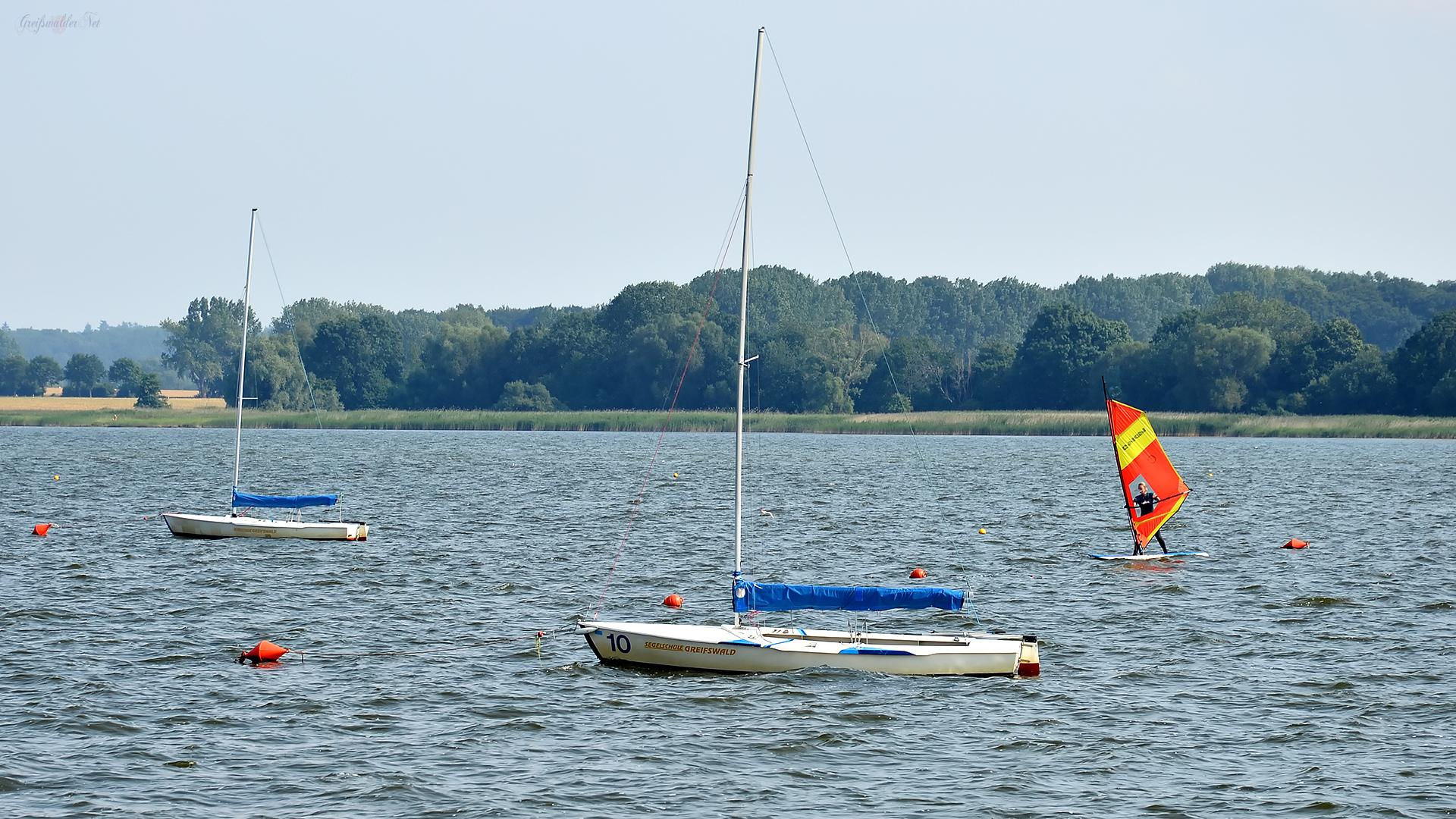 Wassersport auf der Dänischen Wiek