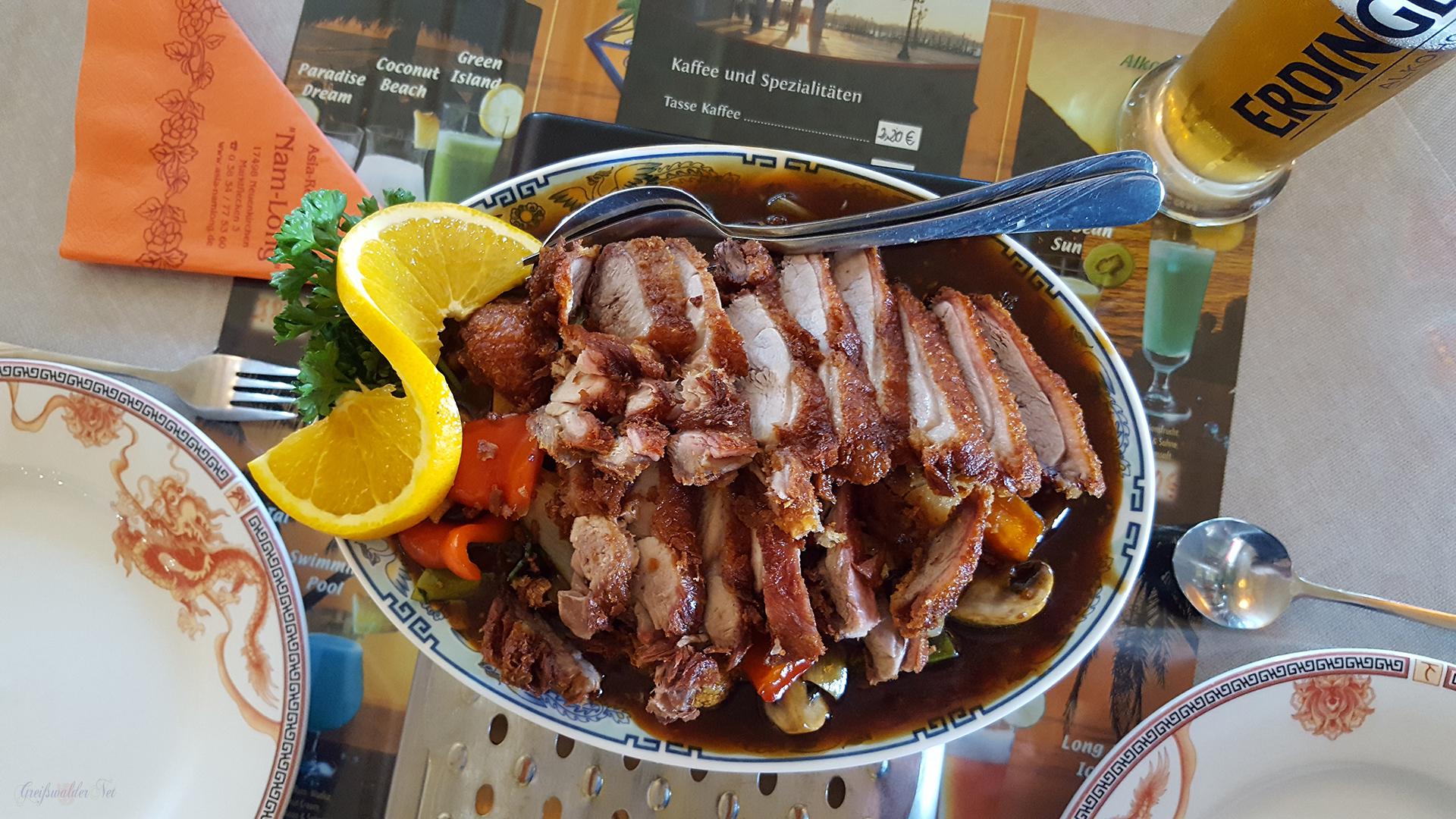 Mittagessen - asiatische Küche