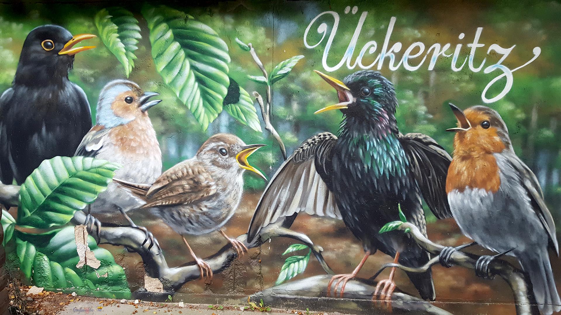 Graffiti in Ückeritz