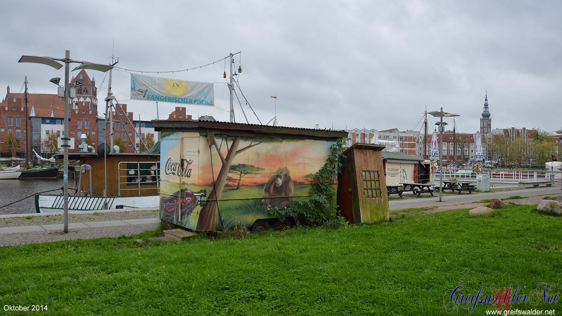Museumshafen in Greifswald - Oktober 2014