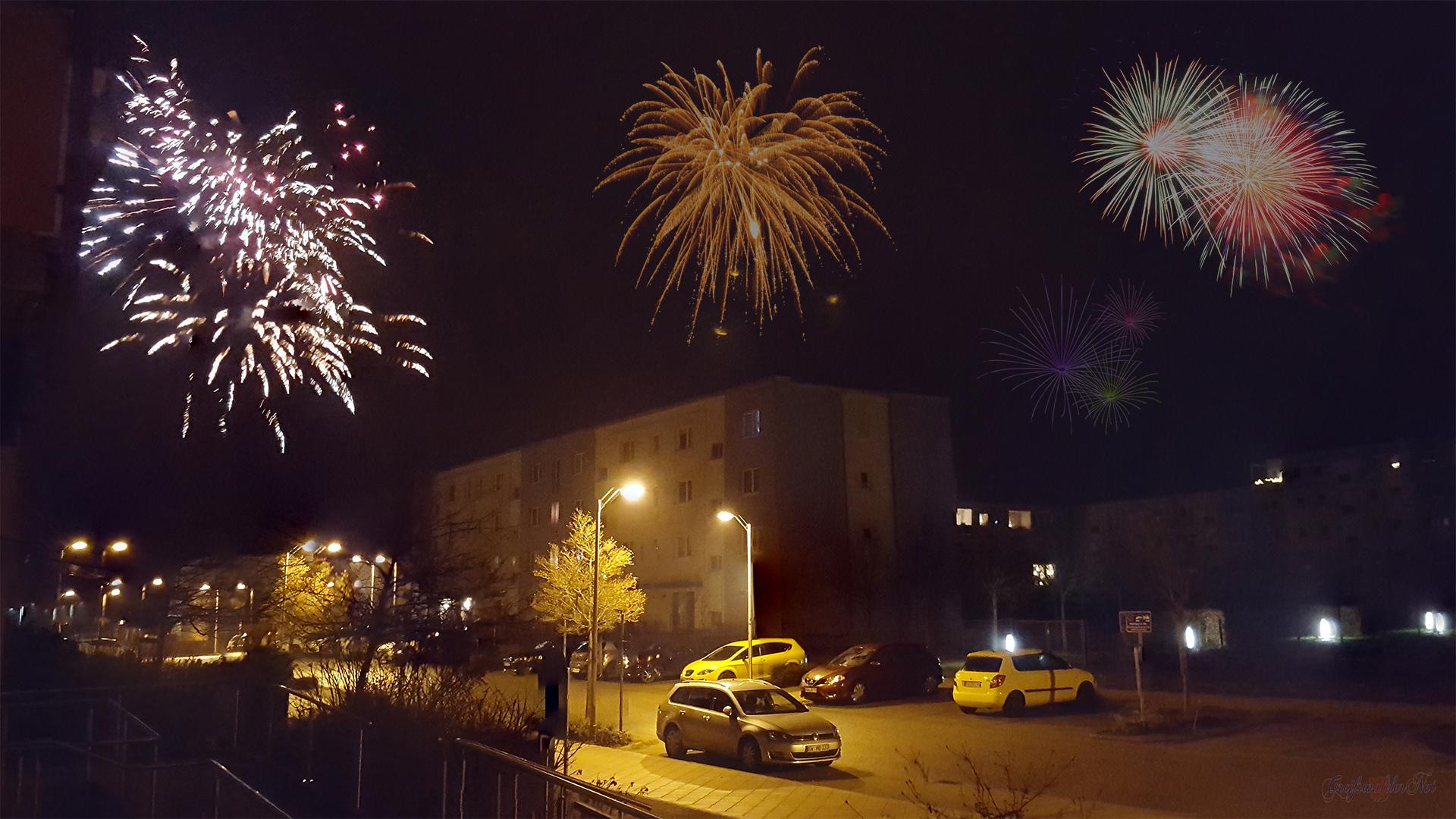 Silvesterfeuerwerk 2018