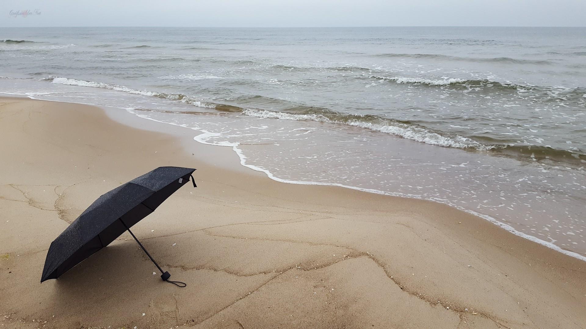 Regen an der Ostsee