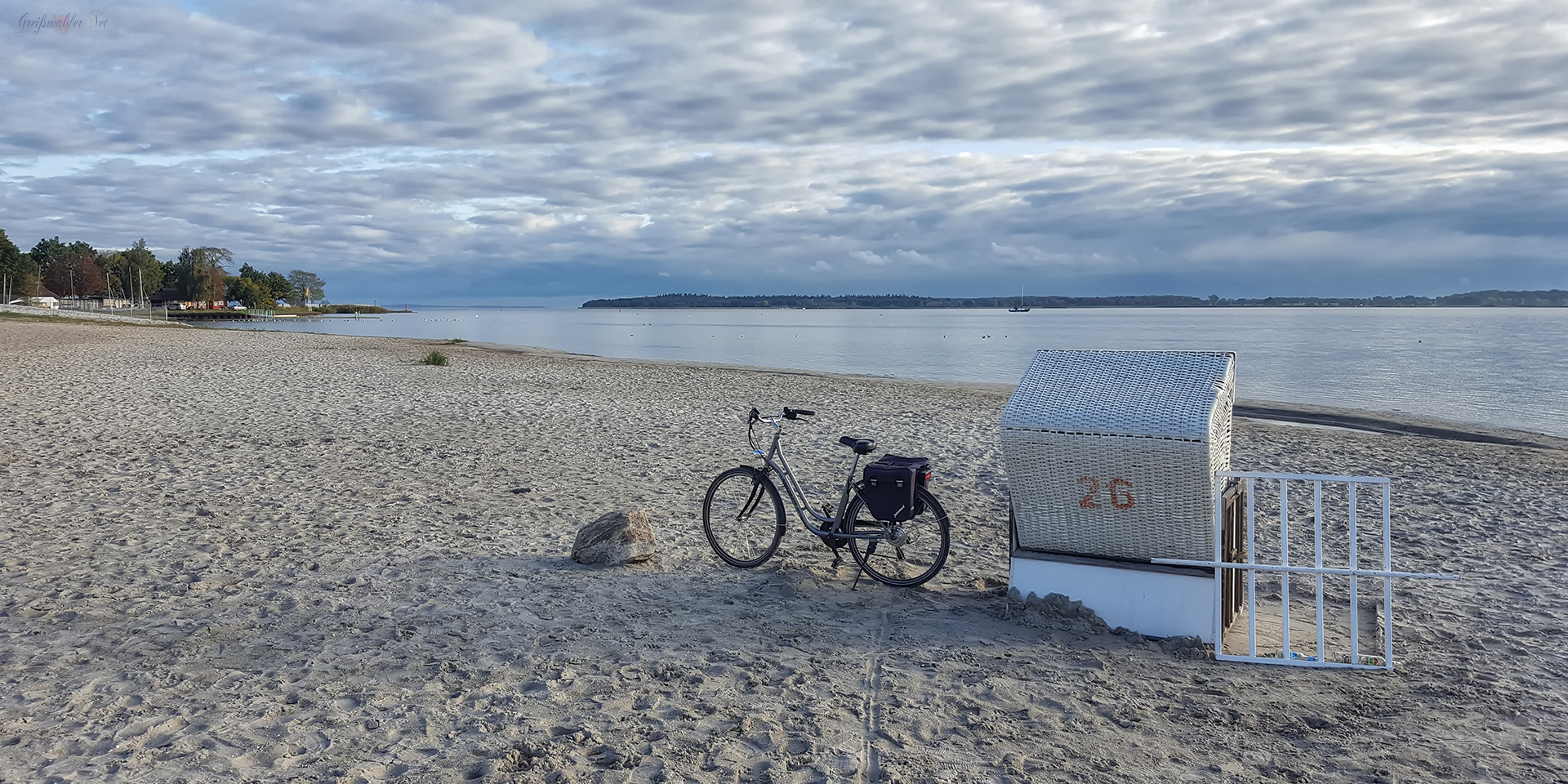 Herbst am Strand in Greifswald-Eldena