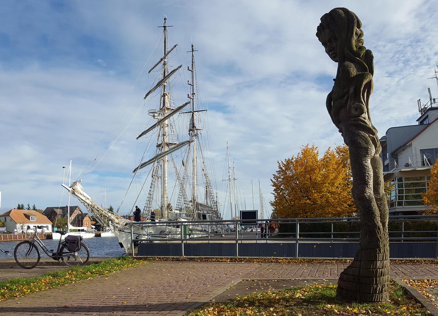Segelschulschiff GREIF in Greifswald-Wieck