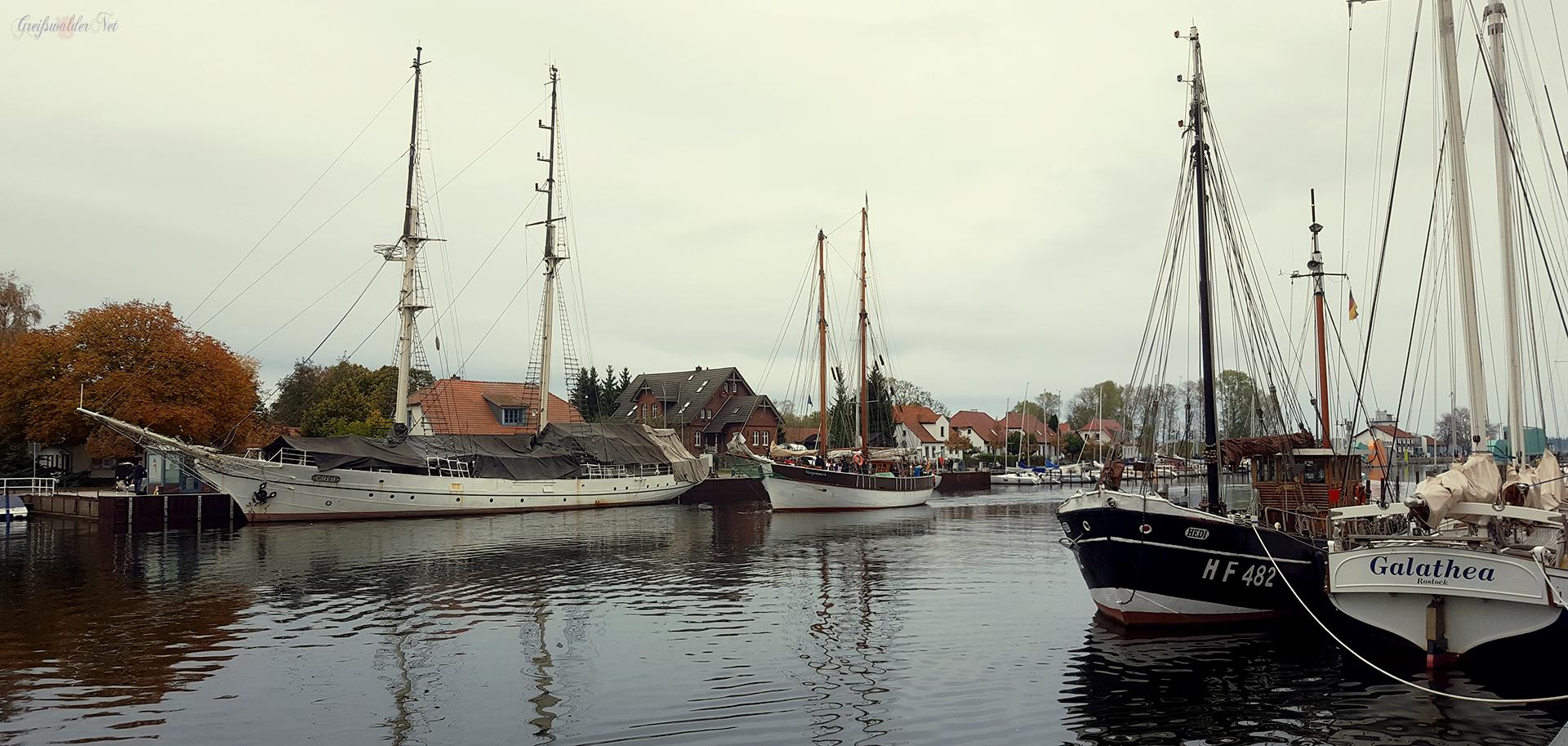 Herbststimmung in Greifswald-Wieck